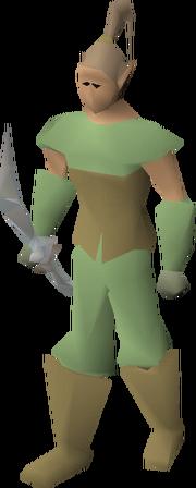 Elf warrior archer