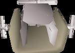 Granite clamp detail