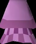 Pink elegant skirt detail