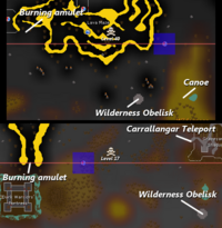 Revenant Caves location