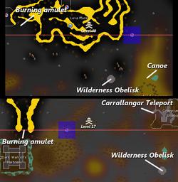 Revenant Caves location