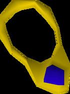 Sapphire necklace detail