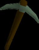 Adamant pickaxe detail