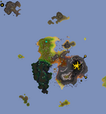 Fossil Island map