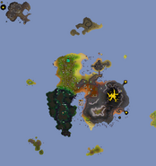 Fossil Island map