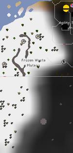 Frozen Waste Plateau map