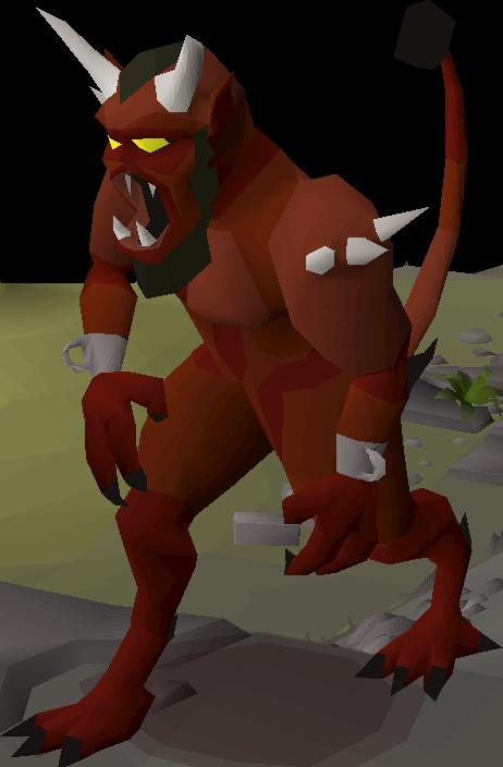 Lesser demon | Old School RuneScape Wiki | FANDOM powered ...
