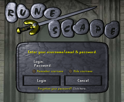 Remember username, tooltips, and Wilderness Wars! (1)