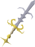 Saradomin godsword (or) detail