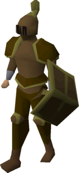 Bronze trimmed set (lg) equipped