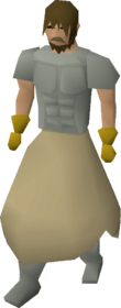 Fighter torso equipped