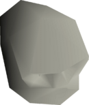 Goblin skull detail
