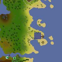 Hot cold clue - Karamja gnome glider map