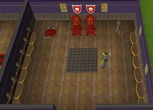 Throne Room built