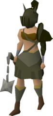 Verac's armour (female) equipped