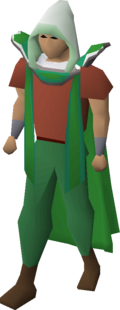 Achievement diary hood equipped