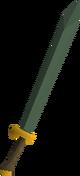 Adamant 2h sword detail