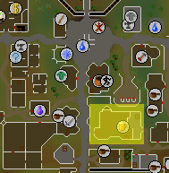 Blue Moon Inn map