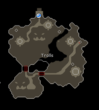 Ice Troll Cave Map