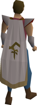 Bandos cloak equipped