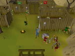 Emote clue - goblin salute at goblin village