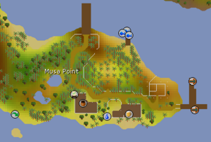 Musa Point map