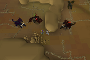 Black dragon task-only area safe spot