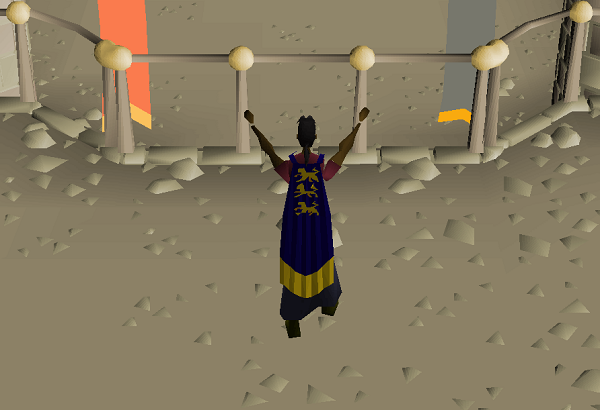 Fossil Island Kudos Display, the Champion's Cape, and much more. (3)