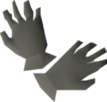 Granite gloves detail