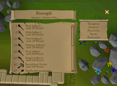 Left Click Range Cooking, Slayer Helm Recolour and Player Survey (8)
