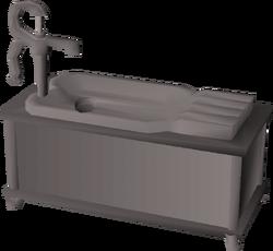 Sink built