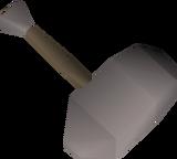 Rock thrownhammer detail