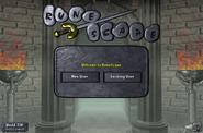 Default login screen