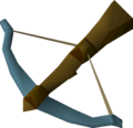 Rune crossbow detail