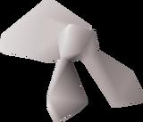 Pirate bandana (white) detail