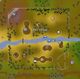 Shilo Village map
