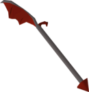 Dragon halberd detail