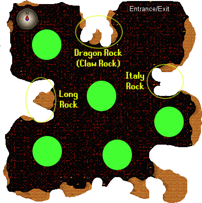 Fight Caves Map