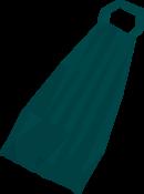 Fremennik teal cloak detail