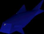 Raw giant carp detail