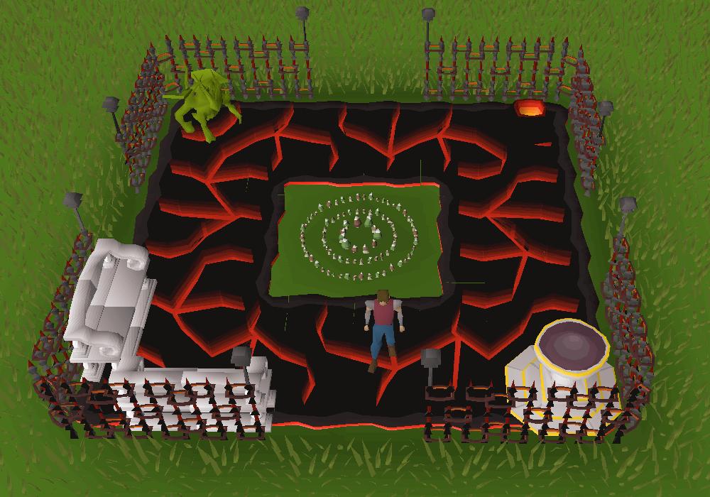 theme. Volcanic Theme Built