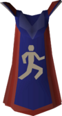 Agility cape (t) detail