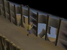 Fixing colony wall