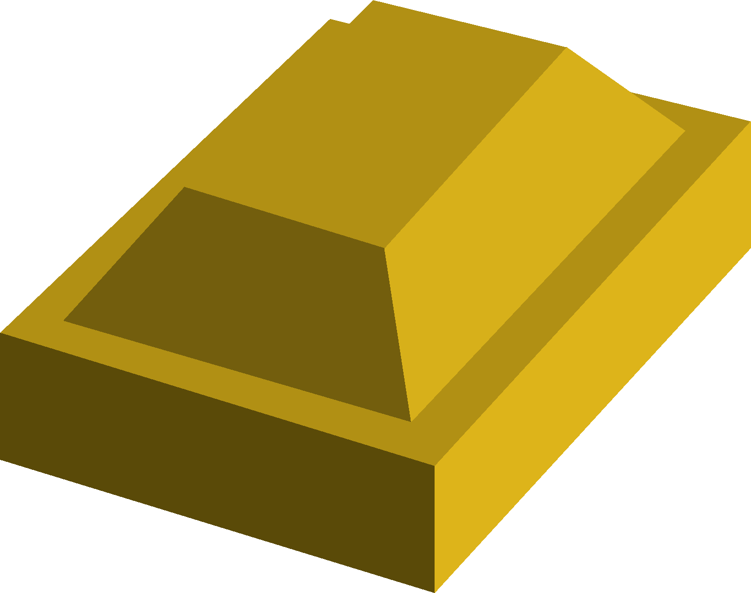 Gold bar detail