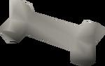 Unicorn bone (polished) detail