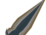 Glowing dagger