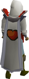 Hitpoints cape equipped