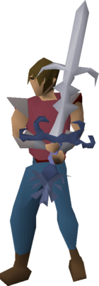 Armadyl godsword (or) equipped