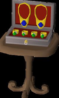 Basic jewellery box built
