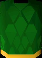 Green d'hide body (g) detail